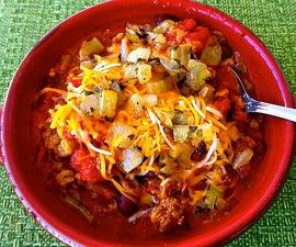 Chili in Crock-Pot