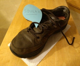 Fixing A Squeaky Shoe Air Bladder