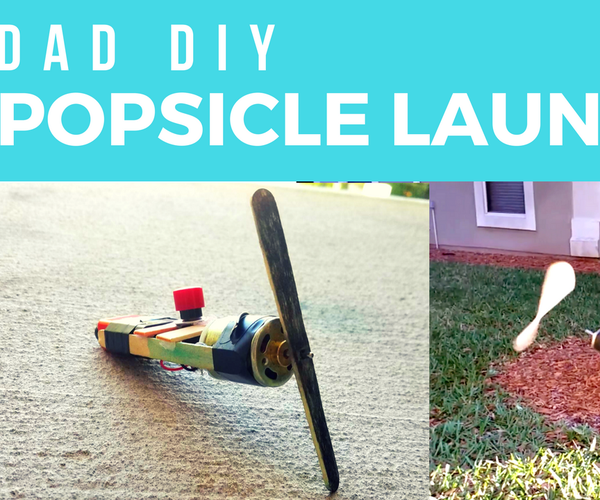 Popsicle Launcher