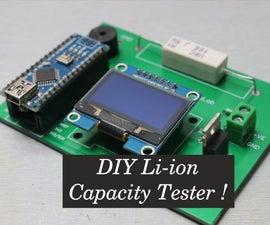 DIY Li-ion Capacity Tester !