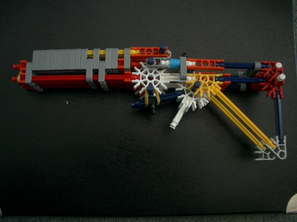 Picture of Three Barrelled Knex Gun