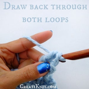 Draw Your Yarn Over Back Through Last 2 Loops.