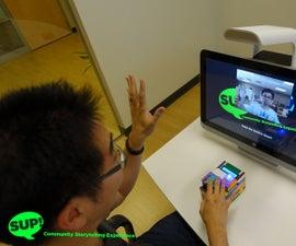 Sup! Community Storytelling Experience IoT Kiosk