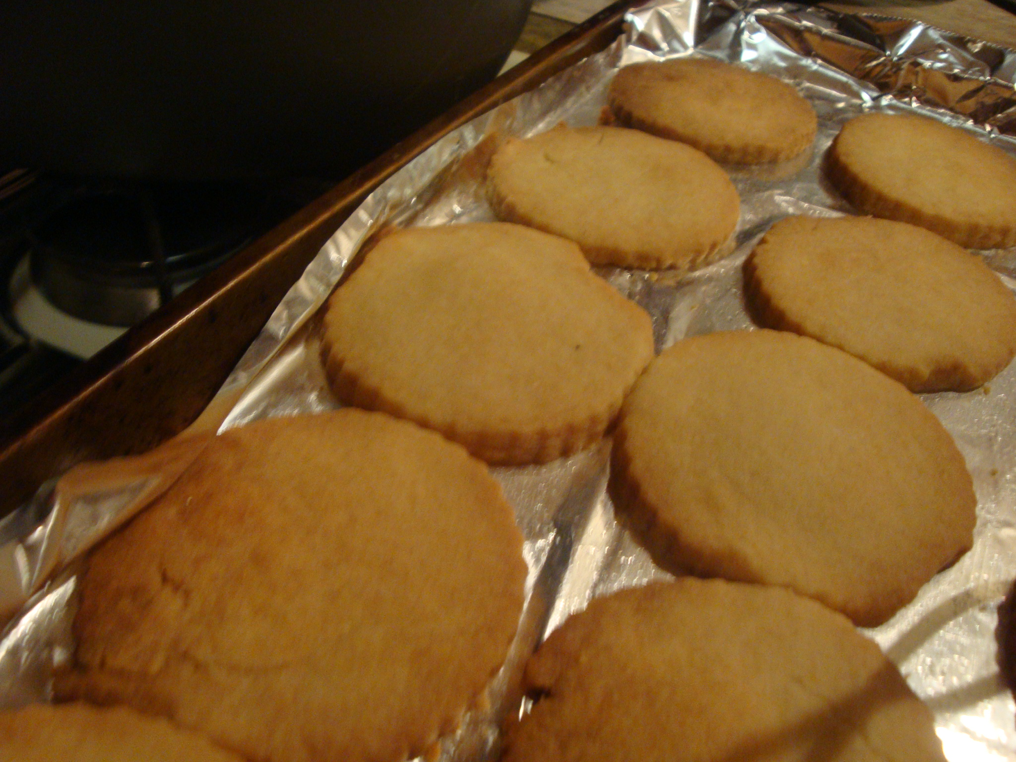 Picture of Almond Orange Shortbread Cookies