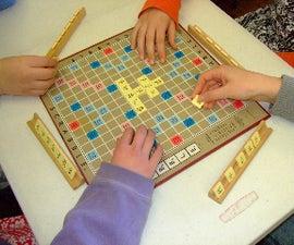 How to make custom Scrabble(tm) tiles.