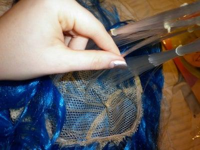 Inserting the Fiber Optics