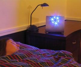 Blue LED light box