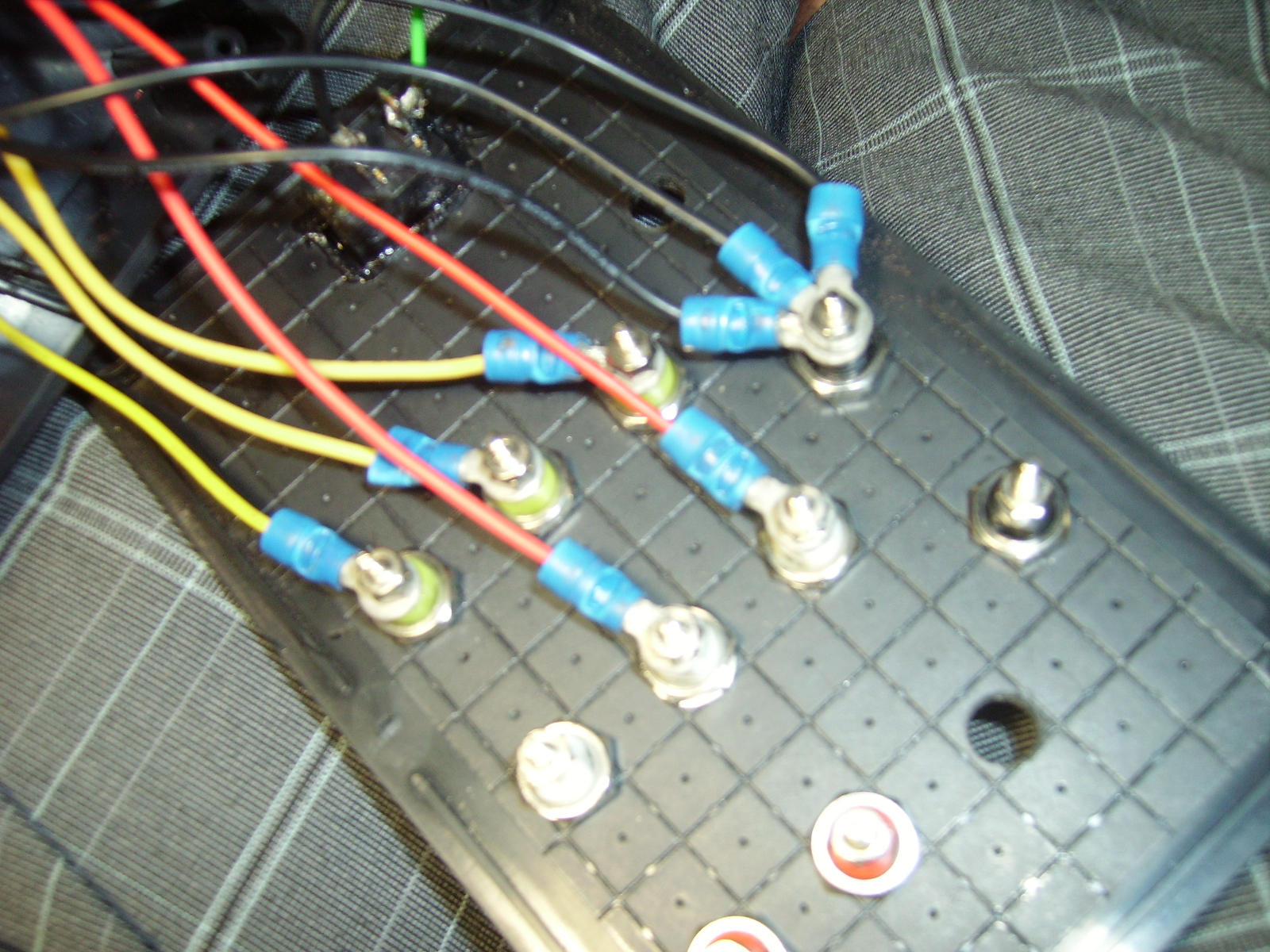 Picture of Connecting All the Wires Up