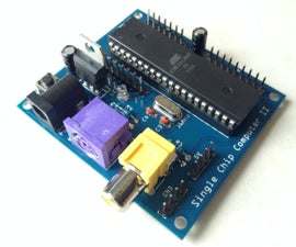 Single Chip Computer: Easy to Produce AVR BASIC Computer