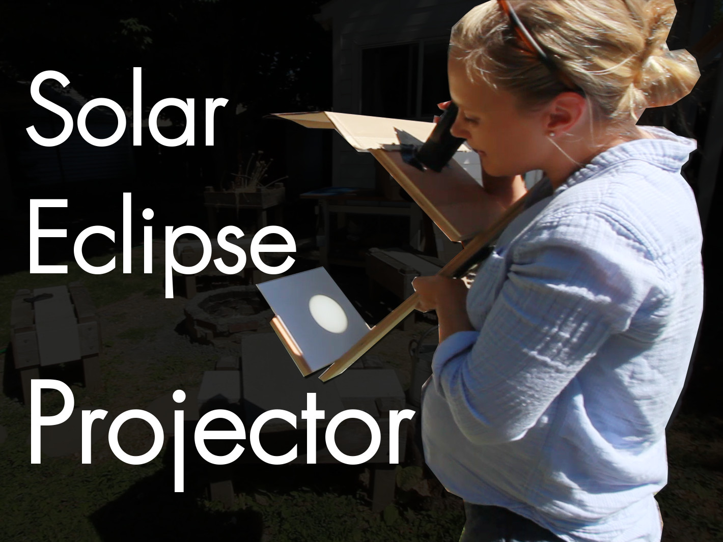 Picture of DIY Solar Projector for Watching the Eclipse Safely