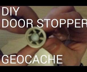 DIY Door Stopper Geocache
