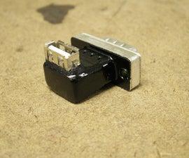VGA to USB power!