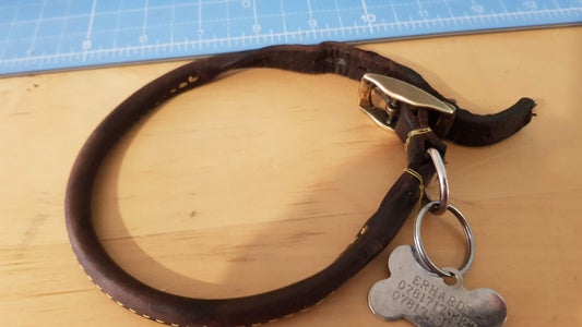 Disassemble Your Old Collar ( or Gather Up Your Hardware)