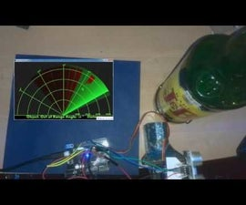 Arduino / Processing - HC-SR04 RADAR Using Processing & Arduino