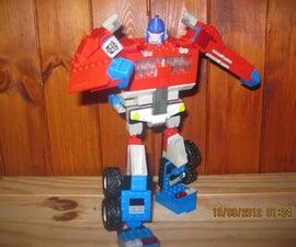 lego transformers / optimus prime