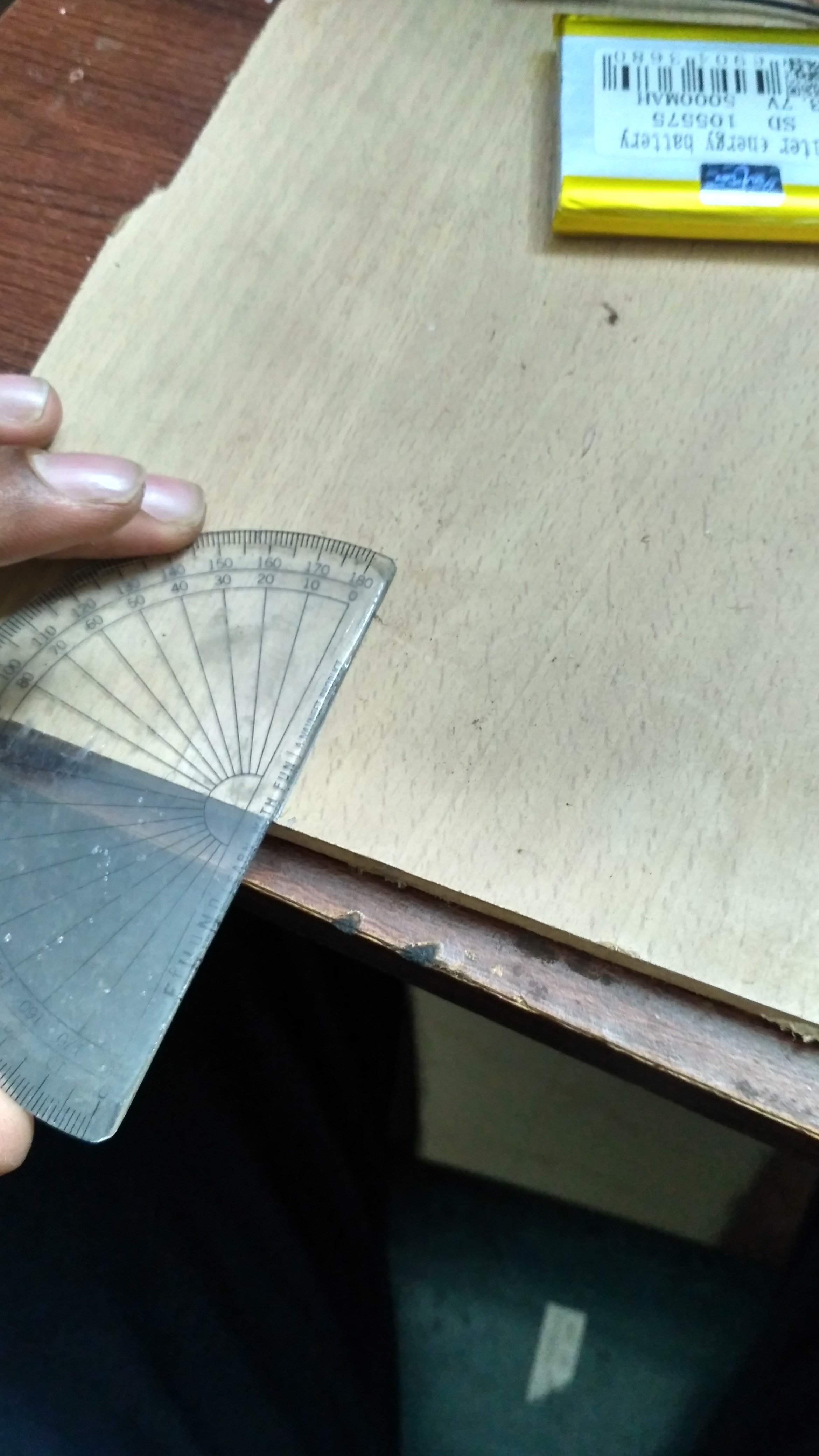 Picture of Making the Bottom Panel:-