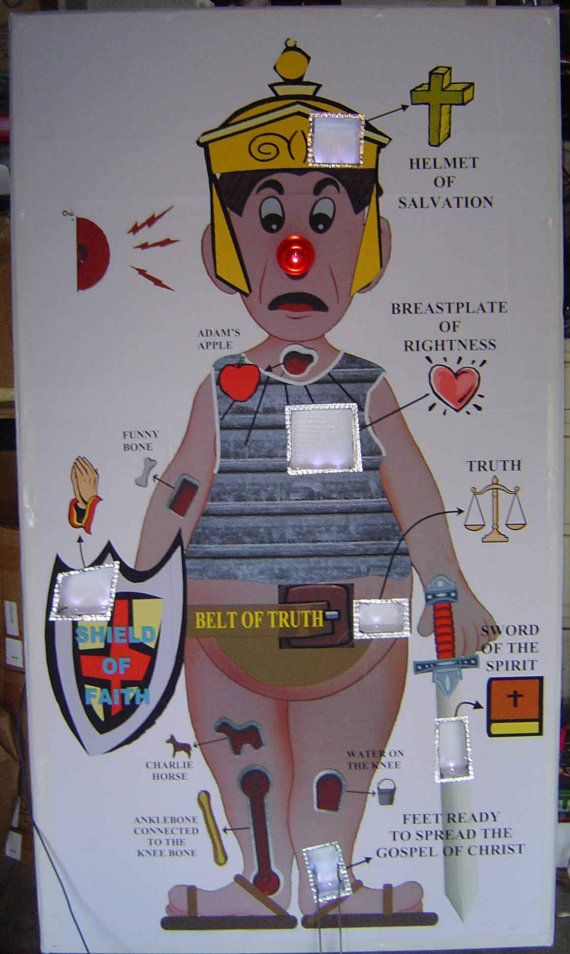 Picture of Life Size Operation Game