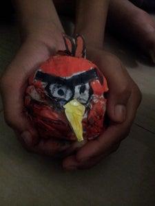 MAKE AN ANGRY BIRD