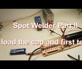 Spot Welder to Build Your Own Battery