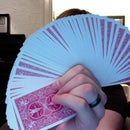 How to fan a deck of cards. Card Flourish.