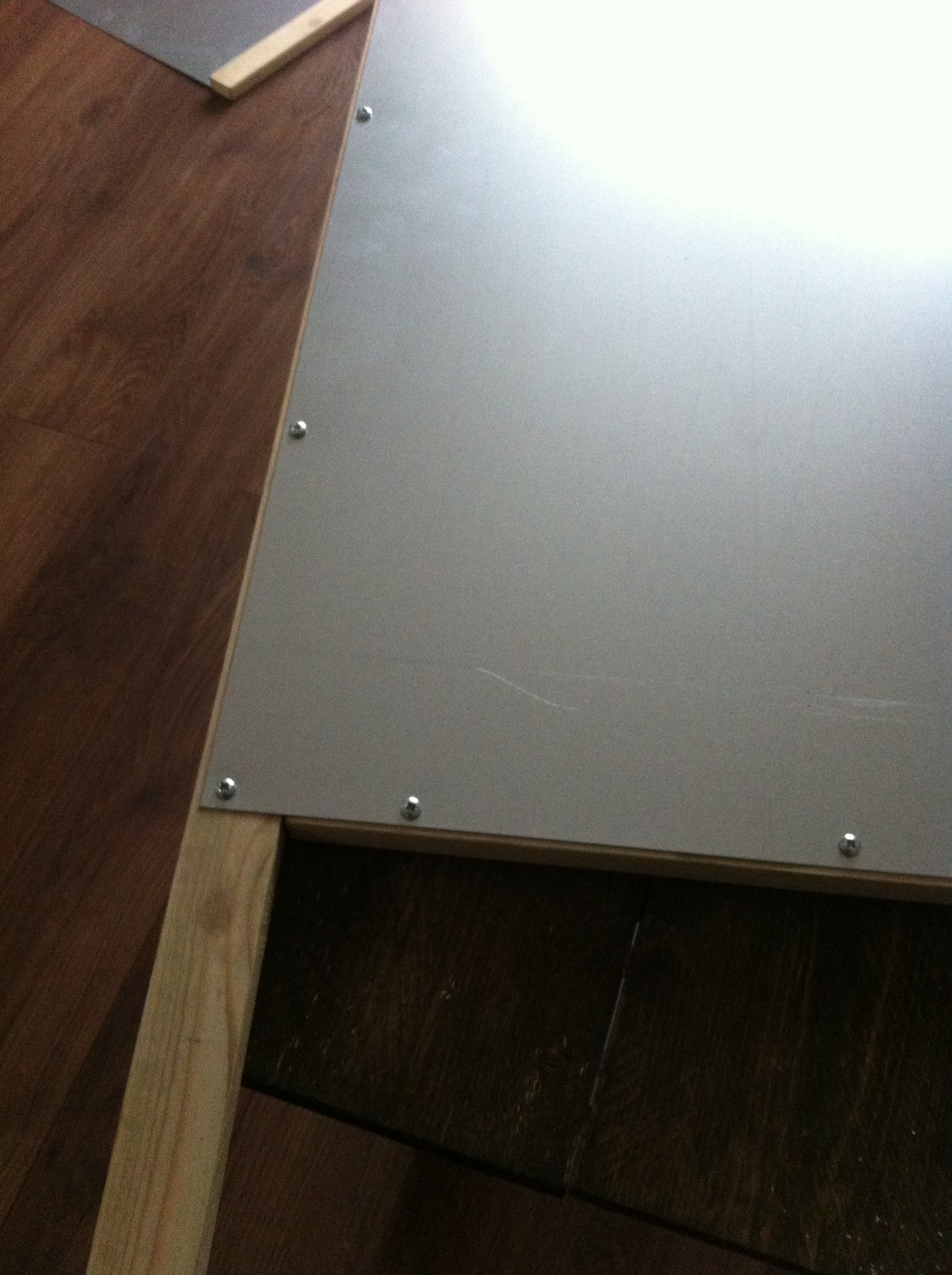 Picture of Screwing the Frame