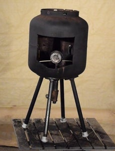 PROPANE CAMPING STOVE/PATIO HEATER: the Final Burnt Deer, to Boldly Cook Where No Man Has Cooked Before.