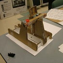 Recycled Fun Cardboard  Cad-A-Pult