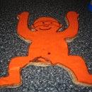 Cardboard Monkey Magnet