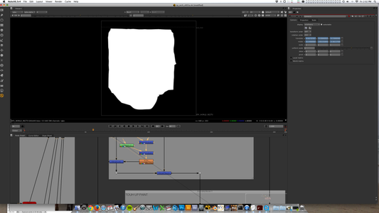 Post Production Process #04. Rotoscoping the Sheet