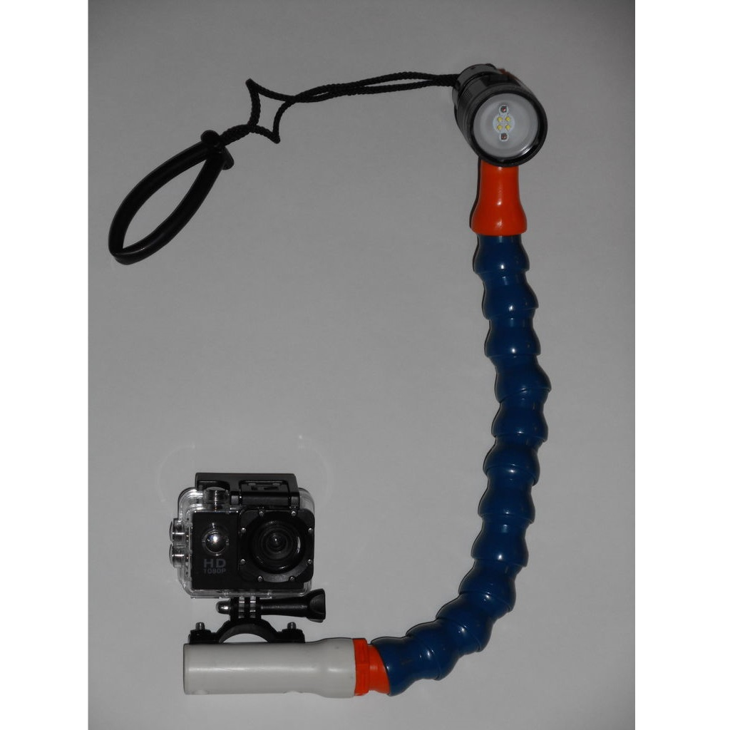Picture of 100 Dollar Underwater Camera Rig/Tray