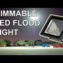 DIY Dimmable LED Flood Light