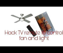 Control Your Home Using  T.V  Remote| Control Your Home Appliance Using T.V Remote.