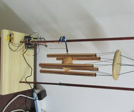 Motion Controlled Indoor Wind Chime