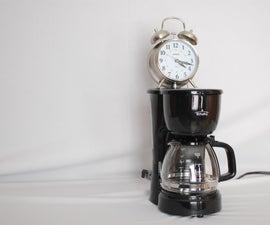 Coffee Pot Alarm Clock