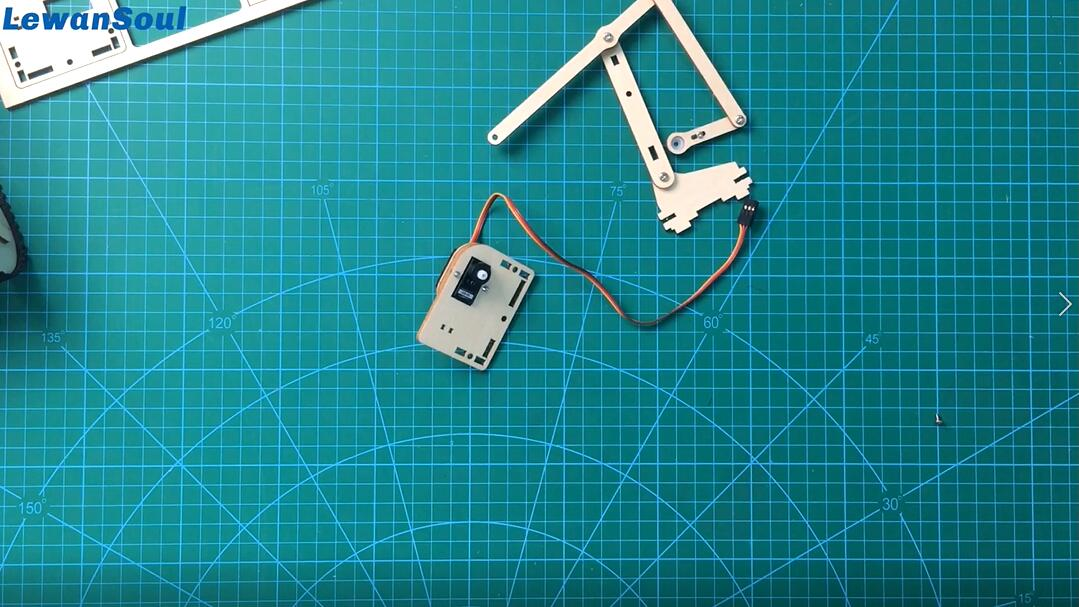 Picture of The Assembly of Armbit ( Robot Arm)_1