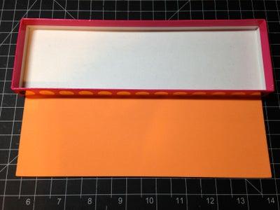 Cut and Glue the Foam