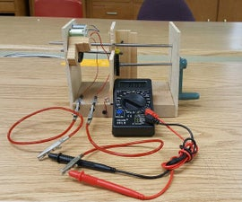 Hand Crank Generator