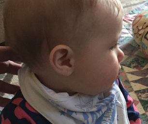Baby Bib Out of a T-shirt