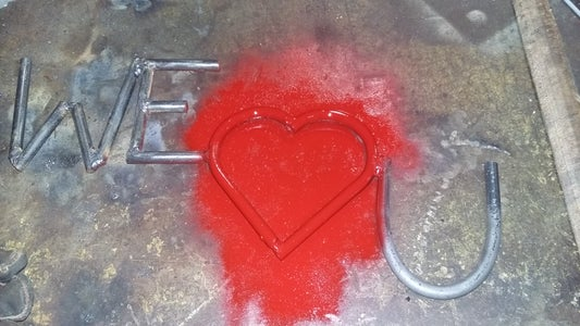 Weld the Heart and Letters All Together