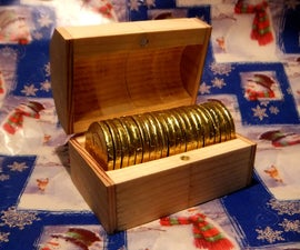 Quick & Easy Chocolate Coin Treasure Chest