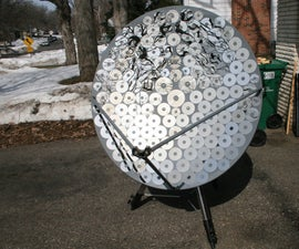 Satellite Dish Solar Cooker