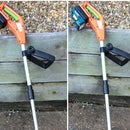 Cordless wipper snipper battery upgrade