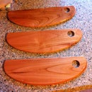Homemade Wood Pizza Cutters
