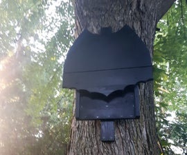 Batman Logo Bat Box House