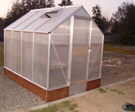 Building and Improving the Harbor Freight 6x8 Greenhouse