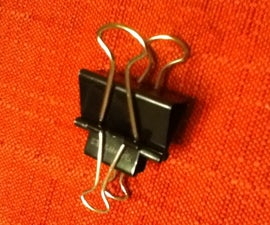 how to make a 2 second binder clip launcher