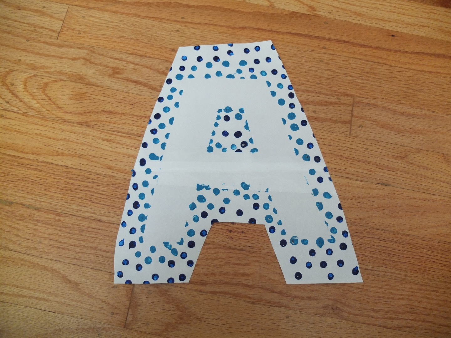 Picture of DIY Polka Dot Wall Art!