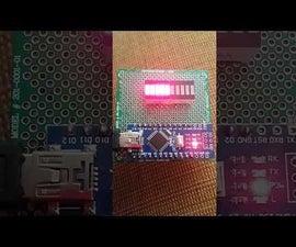 LED Bargraph Counter