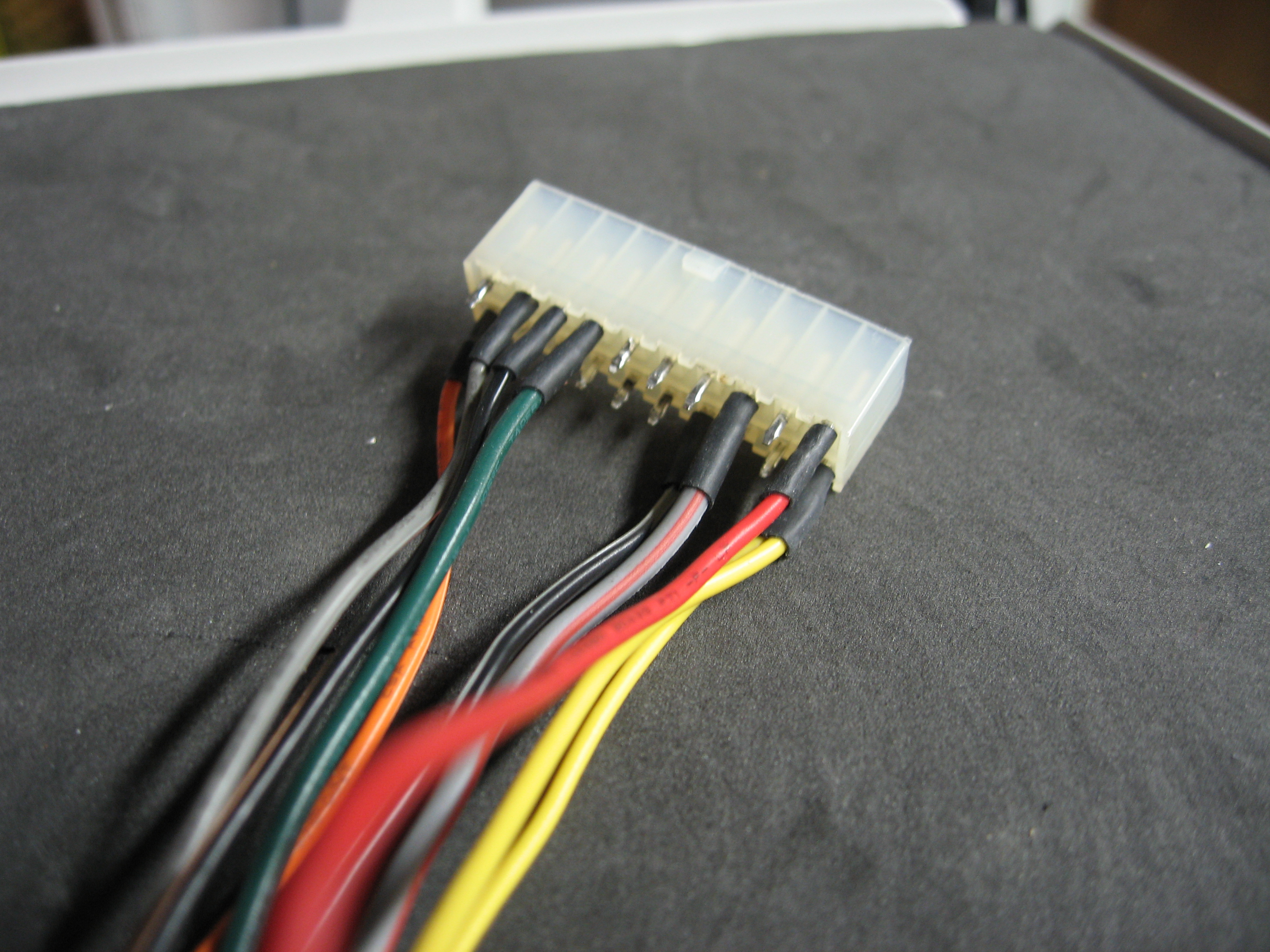 Picture of Connect the Neccessary Wires to the Connector.