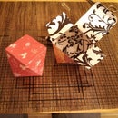 Papercraft Valentine's Gift Box